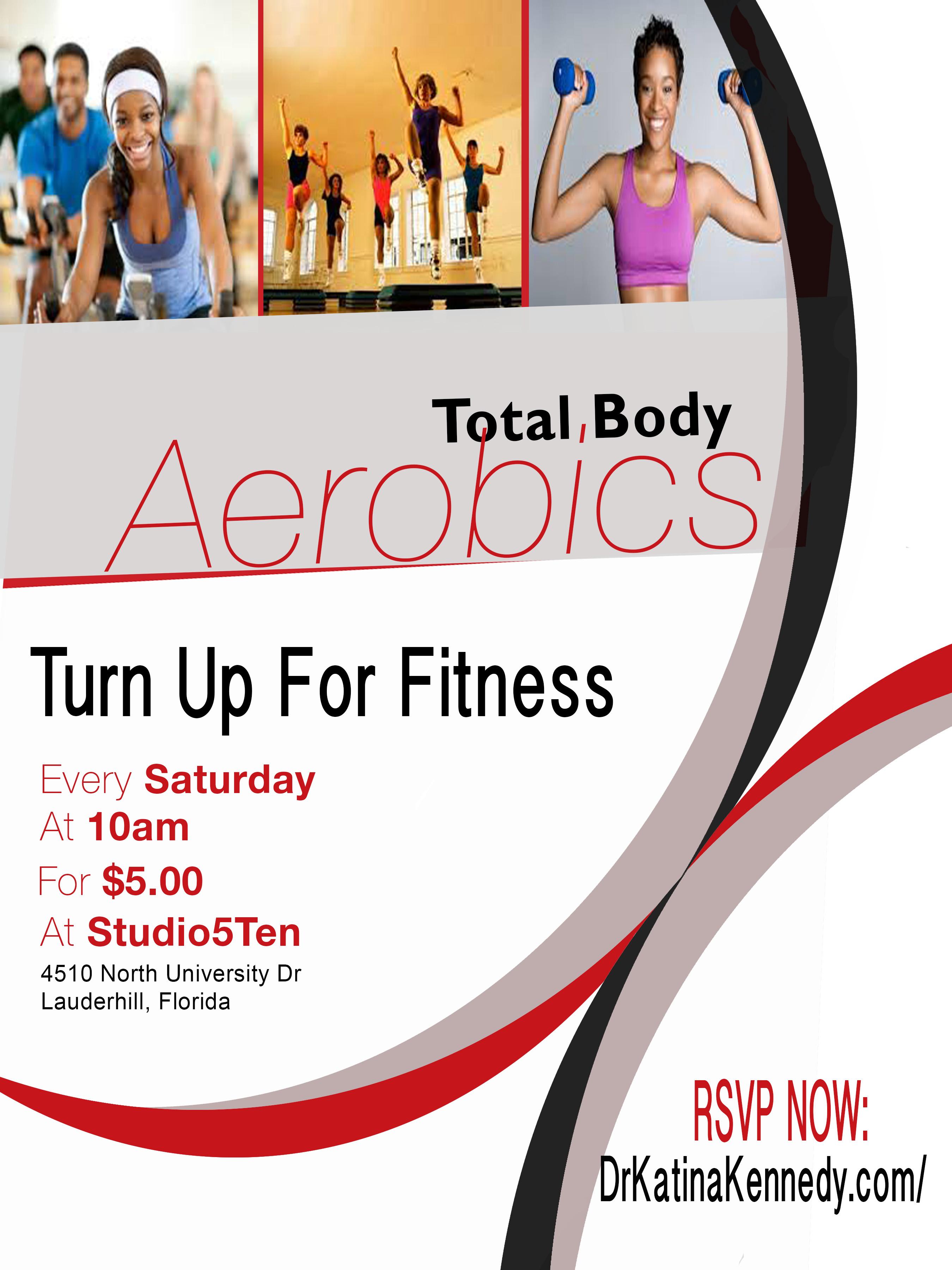 aerobics flyer